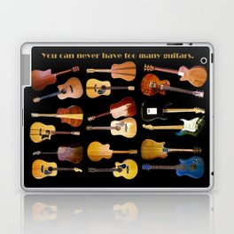 Guitars Galore Laptop & iPad Skin