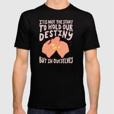 DESTINY Black MEDIUM Mens Fitted Tee