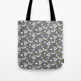 Potter Pattern Tote Bag
