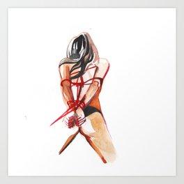 porn numb. 21 Art Print