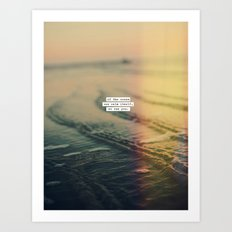 Calm Yourself Art Print