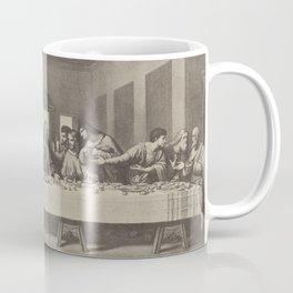 Vintage Last Supper after Da Vinci Coffee Mug