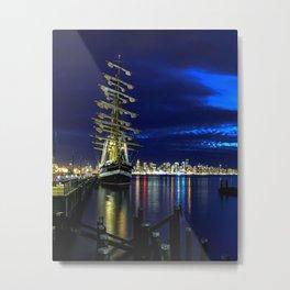 "Russian Sailing Ship ""Kruzenshtern""  Metal Print"
