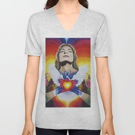 Inner Light Unisex V-Neck