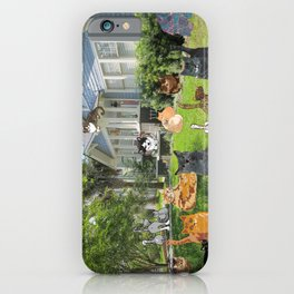 Cottage Cats2 iPhone Case