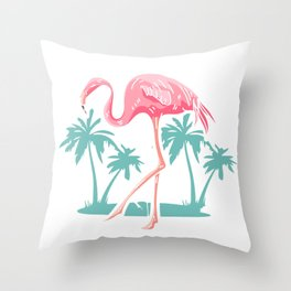 What's Up Flockers Throw Pillow