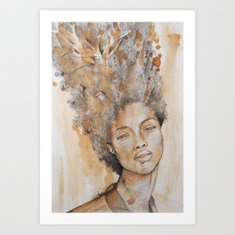 """Roots"" by Ethel Tawe Art Print"