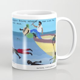 Bad  Painting Collection Number 54 & 55 Coffee Mug