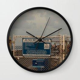 Juno Beach Wall Clock