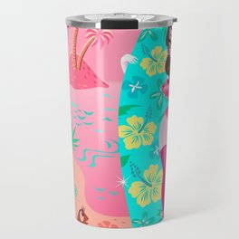 Hawaii Burlesque Festival Beach Bunny Travel Mug