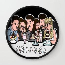 Friends Fan Art Wall Clock