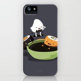 Sushi Bath iPhone Case