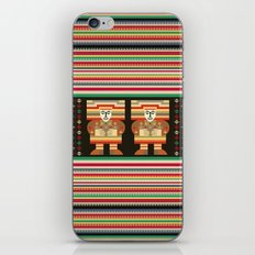 Nick's Blanket 1968 Version 2 (With Figures) iPhone & iPod Skin