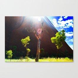 Beauty at Uluru Canvas Print