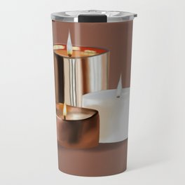Candles Travel Mug