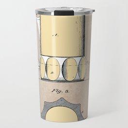 patent Beer Mugs Travel Mug
