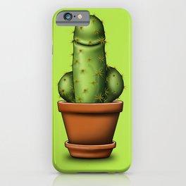 Male cactus iPhone Case
