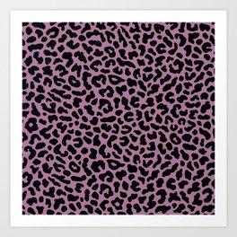 Leopard-Pinko Art Print