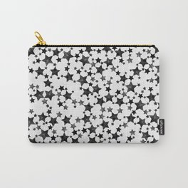 Inky Black Stars Carry-All Pouch