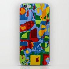 Geometric Garden iPhone & iPod Skin
