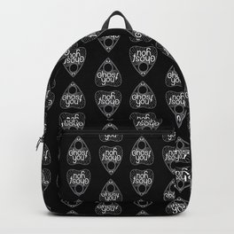 Ghost you (Black ver) Backpack