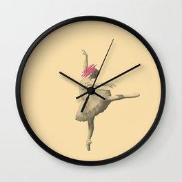 unknown ballerina Wall Clock
