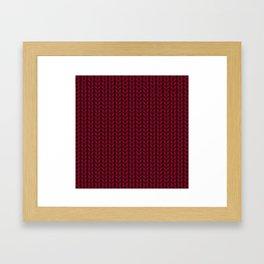 Chunky Knit Framed Art Print