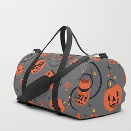 Halloween Magic- Grey Duffle Bag