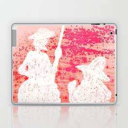 quixote and his friend Laptop & iPad Skin