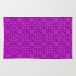 Dazzling Violet Shadows Rug