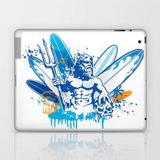 poseidon surfer II Laptop & iPad Skin