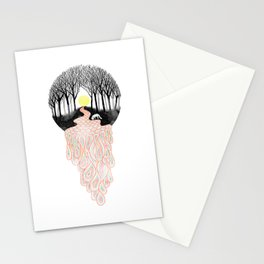 Through Darkness into the Light Stationery Cards