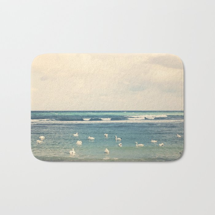 Swan Sea Bath Mat