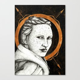 Ladies of Dragon Age: Scout Harding Canvas Print