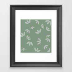 Drops medium. Framed Art Print