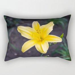 Yellow Lily Rectangular Pillow