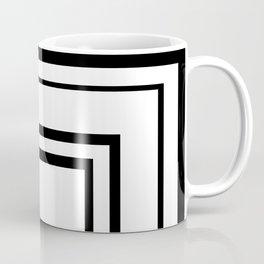 The Minimalist: Squared 2 Coffee Mug