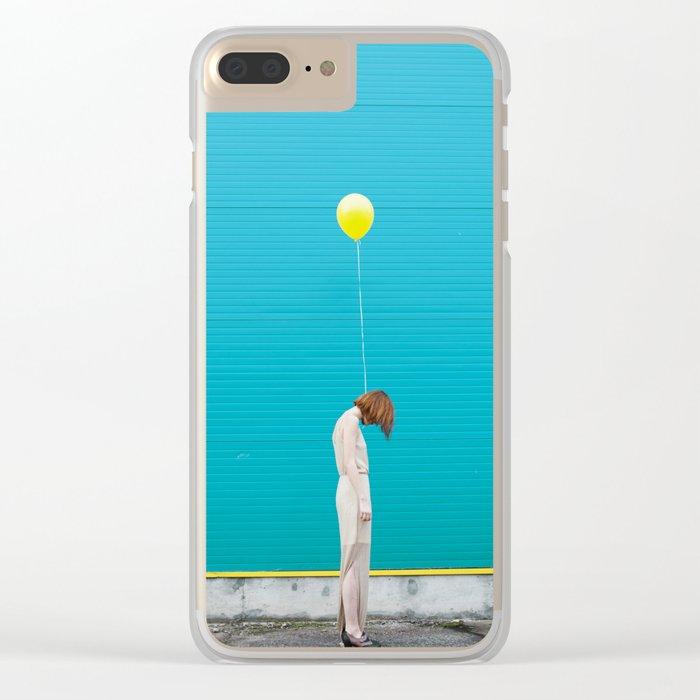 Balloon girl Clear iPhone Case