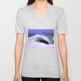 The Moving Ocean Unisex V-Neck