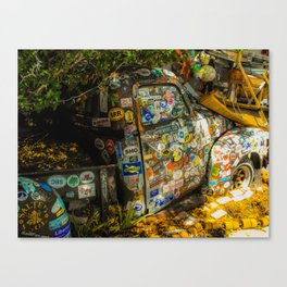 Old Pickup Truck, Key West Canvas Print