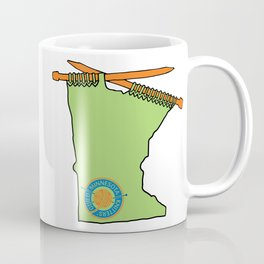 MKG Minnesota - Green Coffee Mug