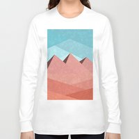 egypt Long Sleeve T-shirts featuring Egypt by Illusorium