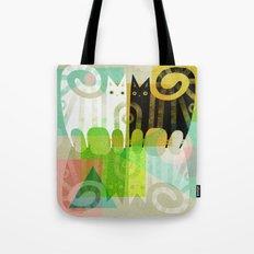 FELINE REFLECTIONS Tote Bag