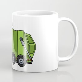 Recycle Truck Coffee Mug
