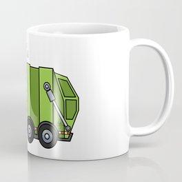 Recycle Truck Coffee Mug