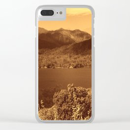 Spirits of the Land... Clear iPhone Case