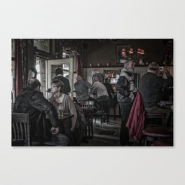 The Usuals Customers Canvas Print