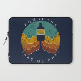 "Kombucha ""Take Me Away"" Laptop Sleeve"