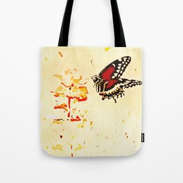 Swallowtail Coming In For A Landing Tote Bag