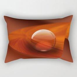 Orange Ball Rectangular Pillow